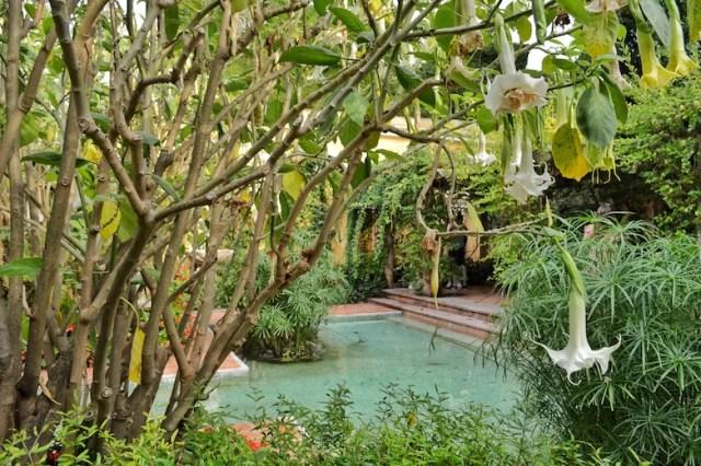 Gardens, Rothschild Villa, Nice, France