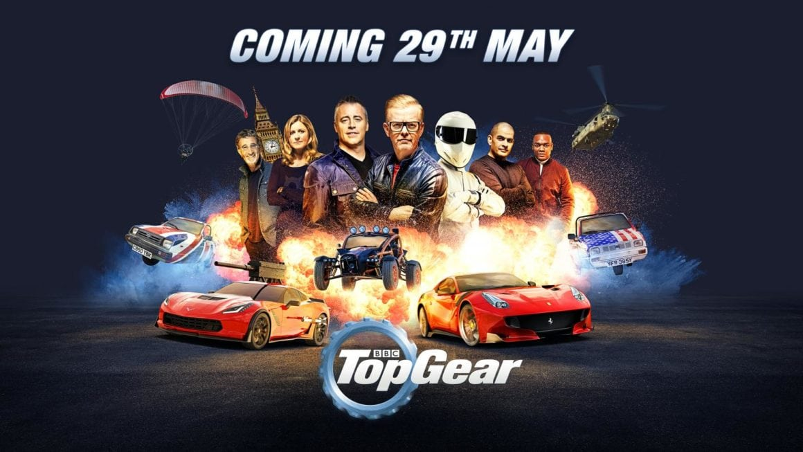 Top Gear Returns on 29 May