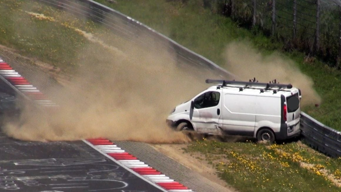 Vivaro's Ridiculous Nurburgring Crash: Why Most Vans Should Avoid the Track