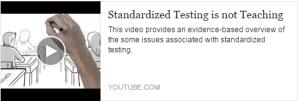 Standardized Testing is Not Teaching