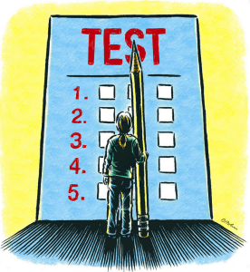Standardized testing isn't supported by research