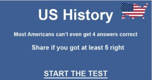 History Test – 10 questions