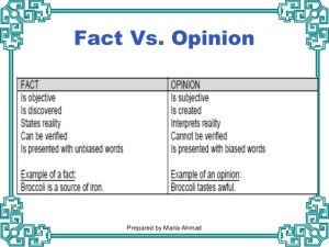 College Kids Can't Discern Between Fact & Opinion?