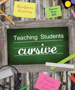 10 reasons to teach cursive handwriting