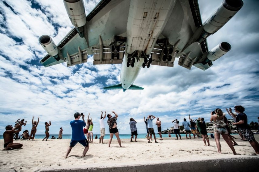 """Last year's TOPPIX competition winner (above) by Bernie Verhoeven. Who's top """"pic"""" will win the SXM Airport-sponsored TOPPIX 2014? (SXM photo)"""