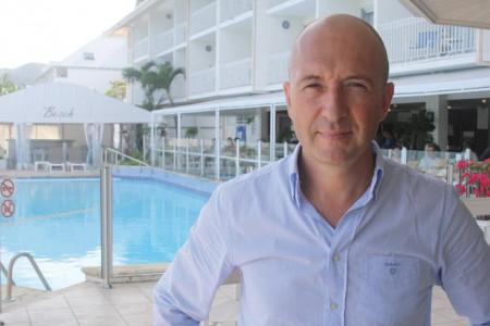 Patrice Seguin, directeur du Beach Hôtel