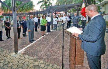 Le chef de cabinet de la préfecture, Emmanuel Effantin, a lu le discours de Jean-Marc Todeschini, secrétaire d'Etat auprès du Ministre de la Défense chargé des Anciens Combattants et de la Mémoire.