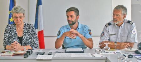 « Nous devons forcément travailler avec nos collègues de la partie hollandaise. Nous devons également travailler avec l'ensemble de la zone, notamment avec Anguilla », Anne Laubies, préfète de Saint-Barthélemy et de Saint-Martin.