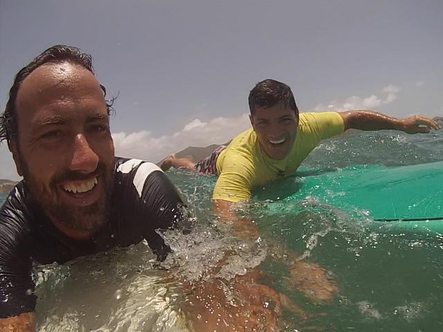 Tedy-Bruschi-Franck-paddling-SXM-Surf-Explorer
