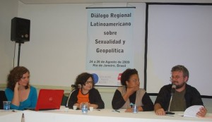 Corina Rodriguez, Gabriela Leite, Ana Paula da Silva, Thaddeus Blanchette