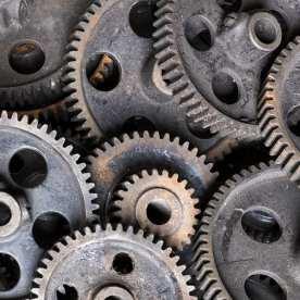 Lonaconing Silk Mill - Gearing up
