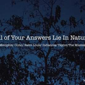 All of Your Answers Lie In Nature