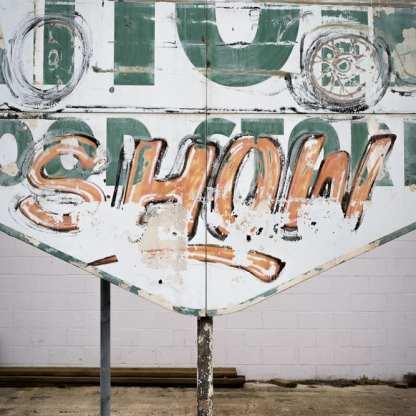 Show Sign, Vidalia, Louisiana ©Forest McMullin
