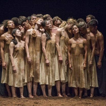 Tanztheater Wuppertal Pina Bausch performs Cafe Muller and The Rite of Spring at the BAM Opera House on September 13, 2017. ©Stephanie Berger