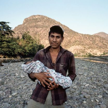 Man with Baby, Mexico, 1995 ©Ben Marcin