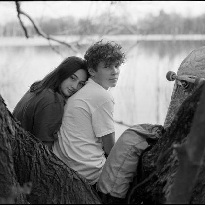 Sara and Anton, Prospect Park Lakeside, 2020 ©Kent Meister