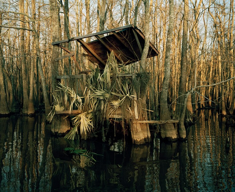 Berry Bay, December 2001 from Duck Blind Series ©2015 Nell Campbell
