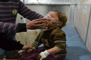 استخدام الكيماوي في سوريا