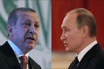 """أردوغان أطلع بوتين على معلومات بشأن عملية """"غصن الزيتون"""""""
