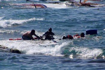 خفر السواحل التركي ينقذ عشرات السوريين