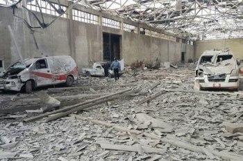نقاط طبية دمرها النظام في الغوطة الشرقية