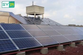 الطاقة البديلة في درعا لتشغيل محطات المياه