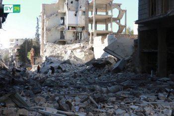 تركيا تعلن استعدادها للمشاركة في إعادة إعمار سوريا