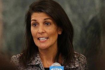 """المندوبة الأمريكية لدى الأمم المتحدة """"نايكي هيلي"""""""