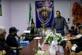 """ندوة توعية لشرطة """"النعيمة"""" الحرة في ريف درعا عن القانون الدولي الإنساني"""