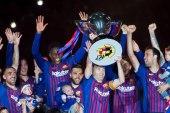 بالفيديو: برشلونة ينهي الليغا بفوز في ليلة وداع إنييستا