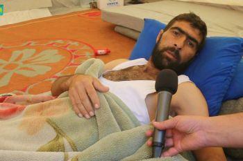 جولة لـ SY24 مع جرحى الغوطة في المخيمات يشتكون نقص الخدمات الطبية