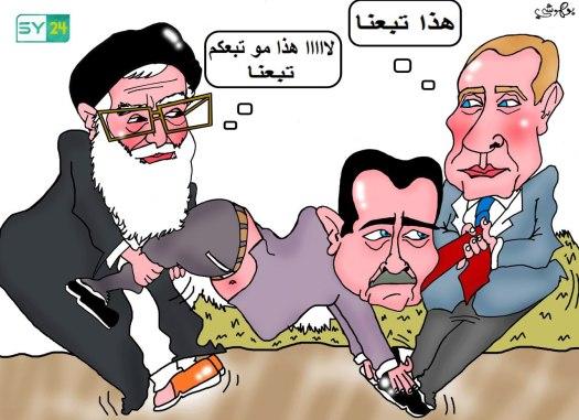 بشار الأسد.. عميل بالجملة!