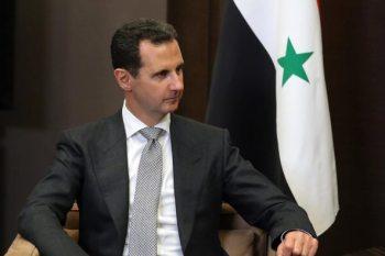 رئيس النظام السوري، بشار الأسد
