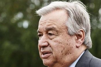 الأمين العام للأمم المتحدة، أنطونيو غوتيريس