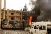 بعد قصفه.. مشفى معرة النعمان الوطني يعلّق استقبال الحالات الباردة