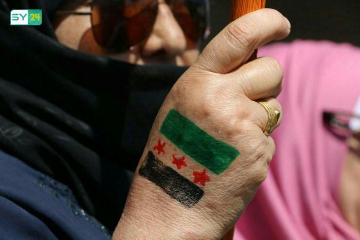 """مظاهرة في مدينة إعزاز بريف حلب في جمعة """"الأسد مصدر الإرهاب"""""""