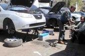 إطار سيارة يدهس رأس عامل وينهي حياته في جرمانا!
