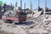 طائرة روسية تقتل طفلة في ريف حماة