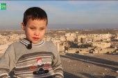 طفل فقد بصره بسبب قصف النظام.. والعمل الجراحي هو الأمل