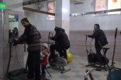 لمساعدة مصابي الحرب.. افتتاح نادي رياضي مجاني في معرة النعمان