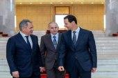 ما مضمون الرسالة التي نقلها وزير الدفاع الروسي من بوتين لبشار الأسد؟