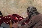 امرأة بُترت ساقها.. تتعرض وأطفالها للعنف من زوجها