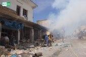 ارتفاع أعداد الضحايا والنازحين نتيجة هجمات النظام وروسيا على إدلب