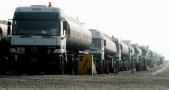 """""""قسد"""" تصادر شاحنات وقود قادمة من دير الزور إلى الرقة"""