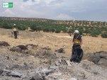 طائرات النظام وروسيا ترتكب مجازر في إدلب