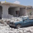 قصف مدفعي بأكثر من 70 قذيفة يوقع 4 قتلى وعدد من الجرحى في بلدة موقا بريف إدلب مساء أمس