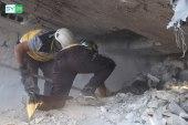قتلى وجرحى بينهم نساء وأطفال بغارات جوية انتقامية على ريف إدلب