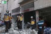 مقتل أم وأطفالها الستة بغارات جوية على ريف معرة النعمان في إدلب