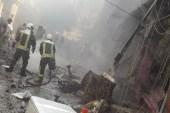 إصابة 25 مدنياً بانفجار في عفرين شمالي حلب