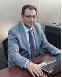 إبراهيم الحسين مدير المركز السوري للحريات الصحفية